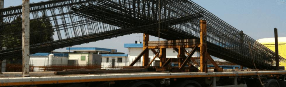 Reti elettrosaldate, gabbie metalliche per edilizia