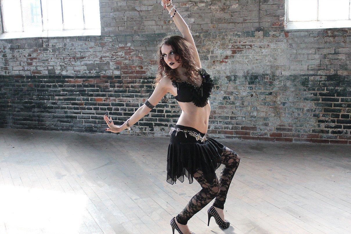 Photograph of a dancer