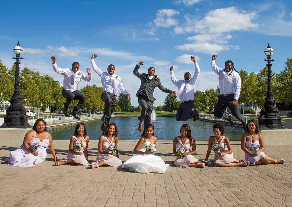 A wedding photograph