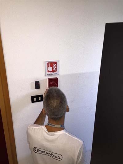 Sicurezza antincendio a Lentini