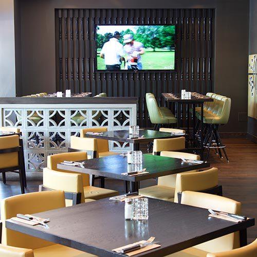 Interior of ORRANGE Kitchen + Bar