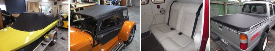 Reupholstered vehicles