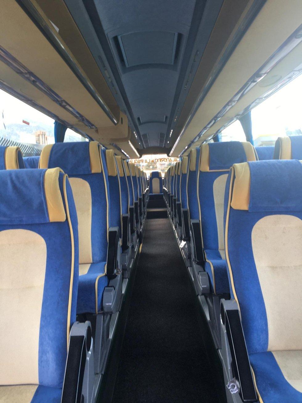 Interno Autobus La Paglia