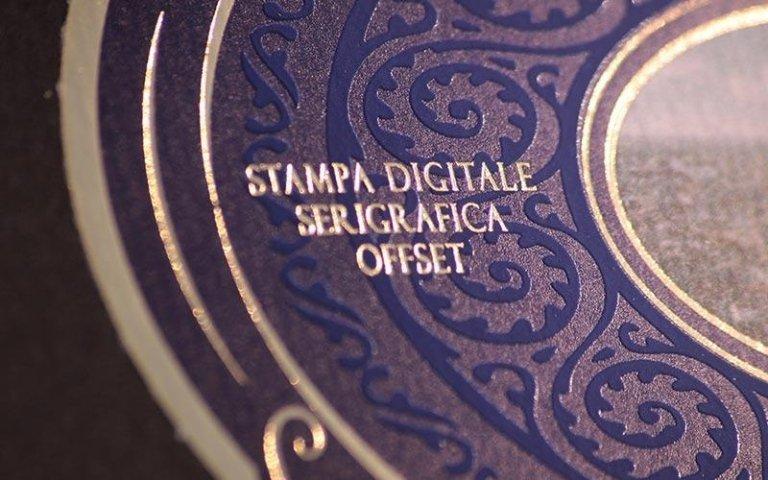 Digital offset silk-screen printing