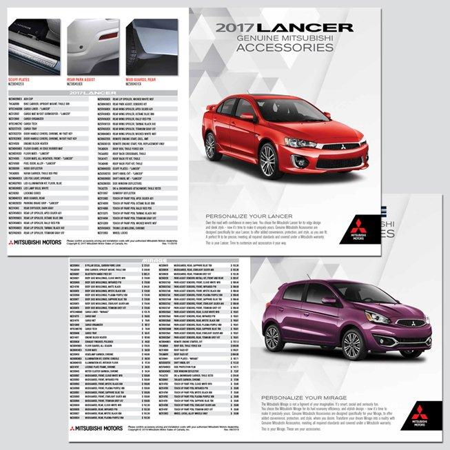 Mitsubishi Product Brochure