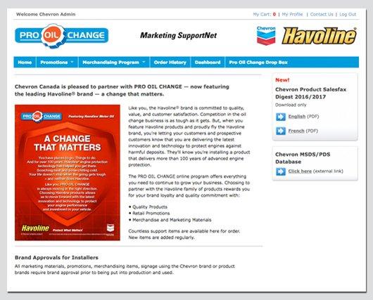 Pro Oil Marketing SupportNet