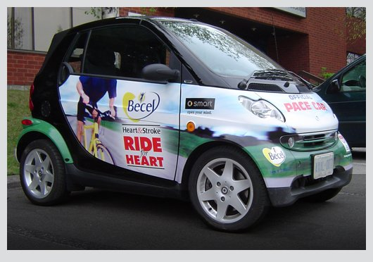 """Unilever Canada Inc. – Becel """"Ride for Heart"""" Pace Car"""