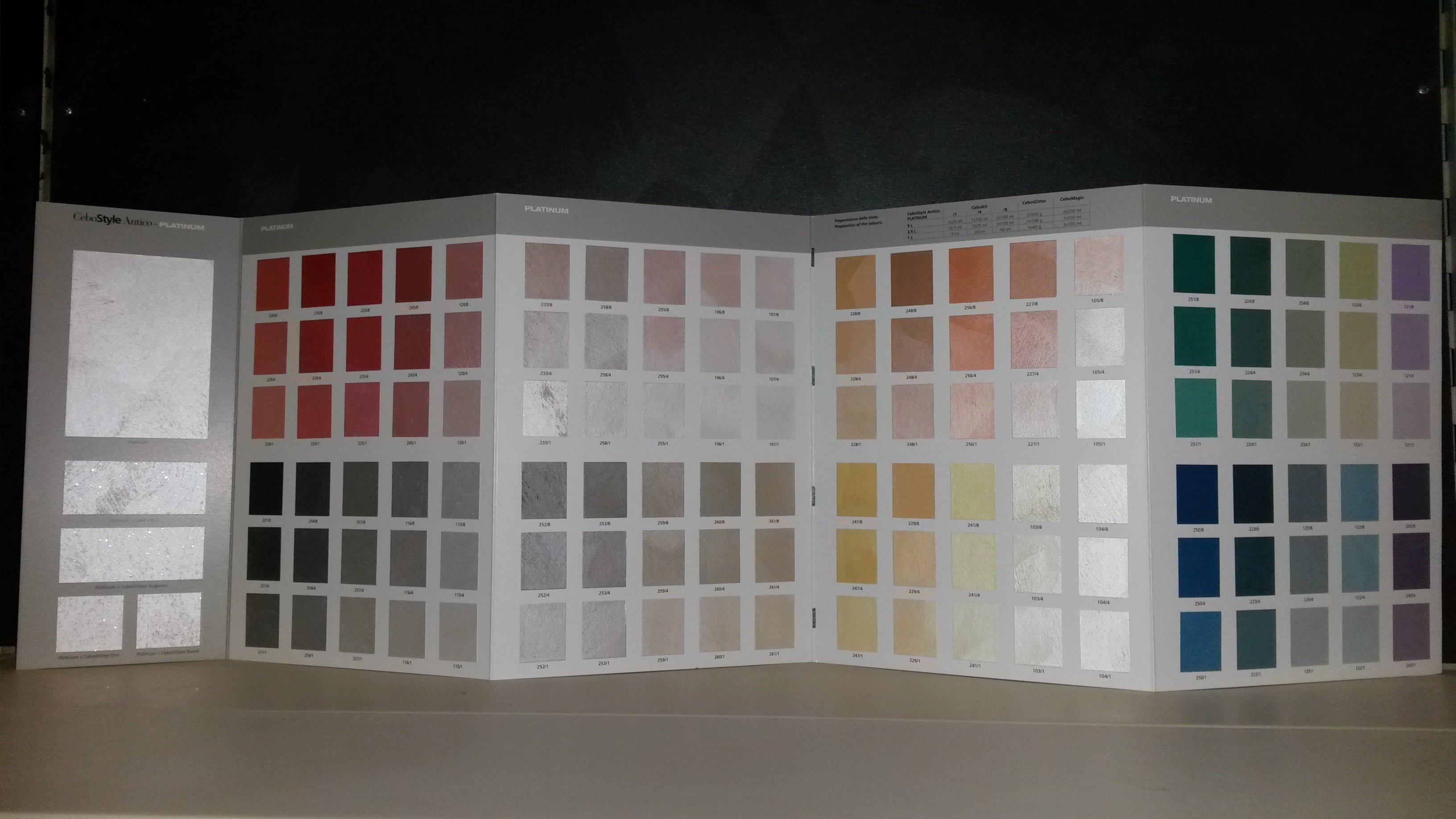 Campionario colori cebostyle