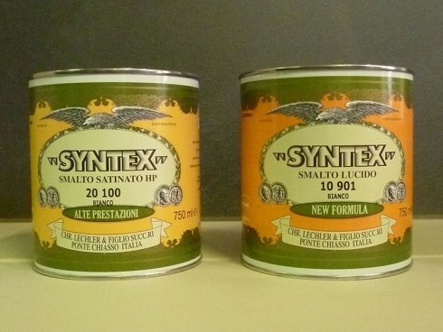 barattoli di colore SYNTEX