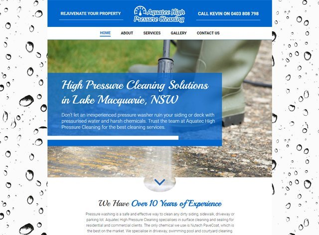 A High pressure Cleaning