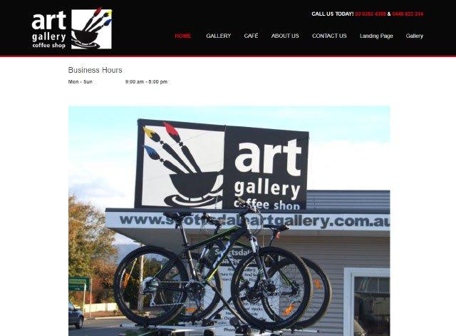 Art Gallery Coffee Shop