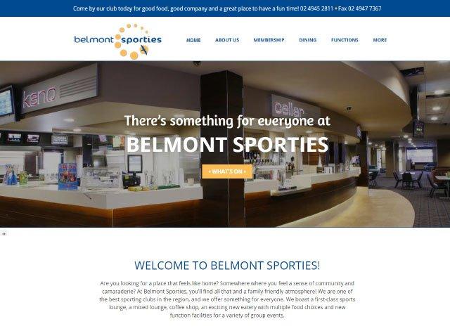 Belmont Sporties