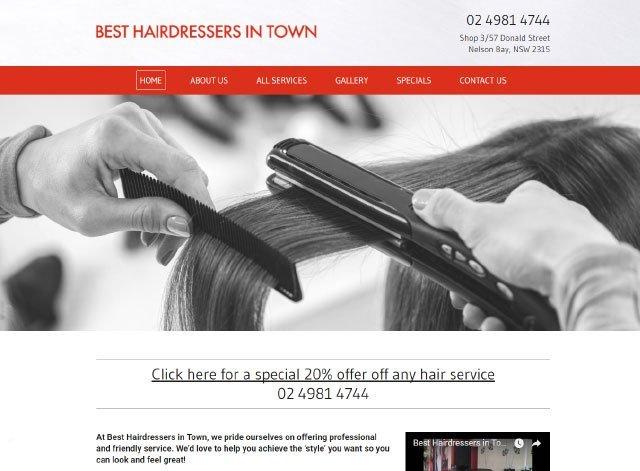 Best hairdresser in town
