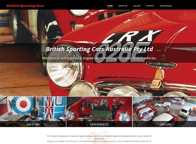 British sporting cars