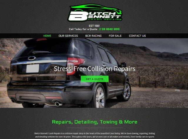 Butch Bennet Crash Repairs