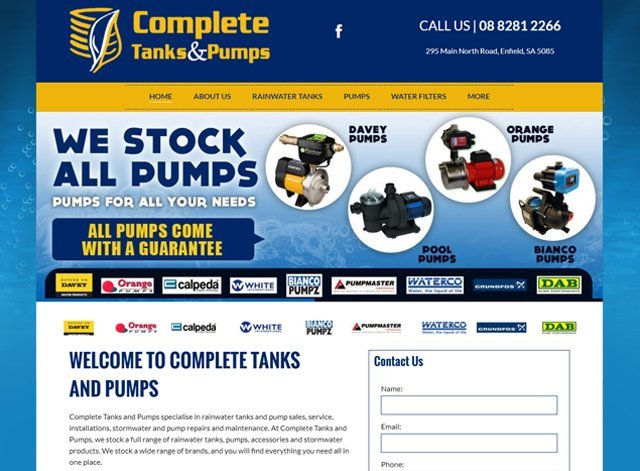 complete tanks & pumps
