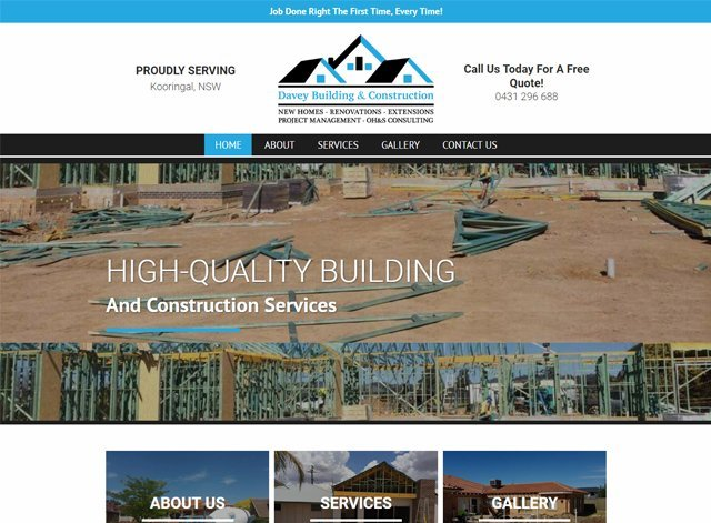 Davey Building anc construction