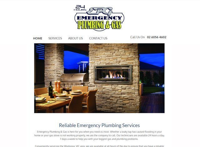 emergency plumbing and gas