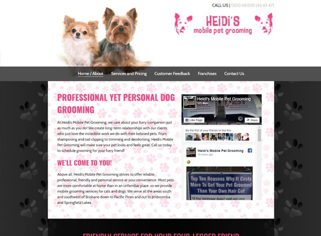 Heidi's Pet Mobile Grooming