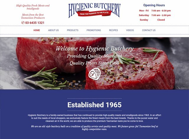 Hygenic butcher