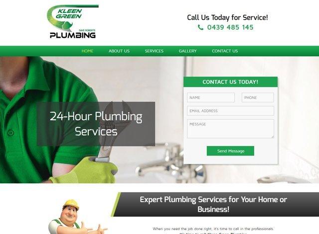 kleen green plumbing