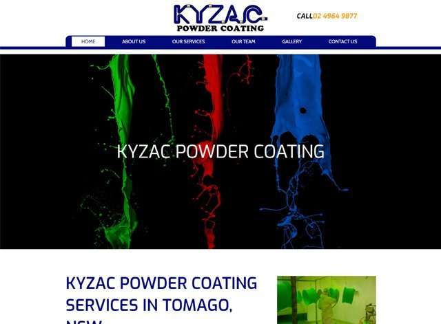 KYZAC Powder Coating