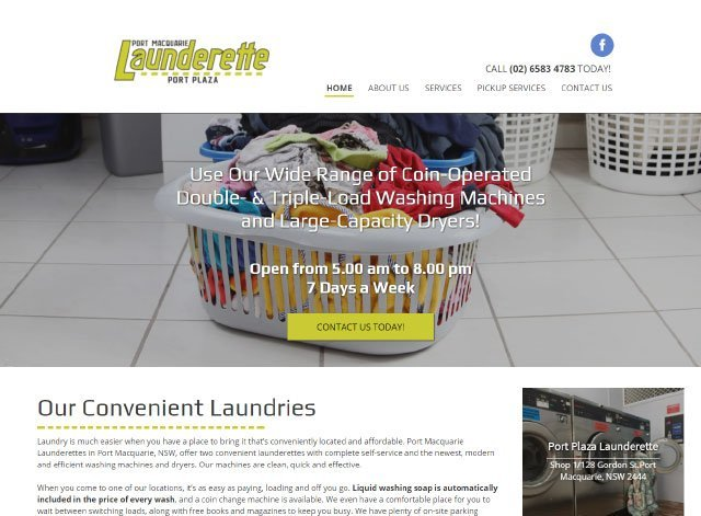 Port Macquarie Launderette