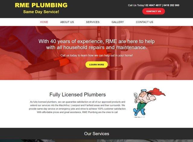 rme plumbing
