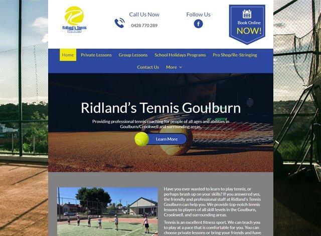 Ridlands Tennis