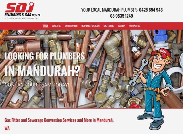 sdj plumbing & rty ltd