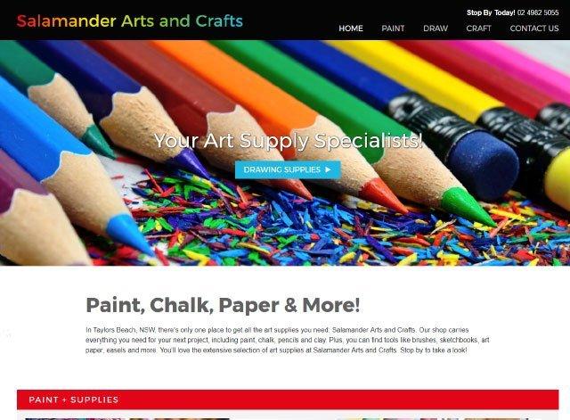 Salamander arts and crafts