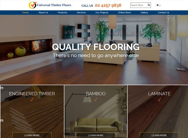 Universal Timber floors
