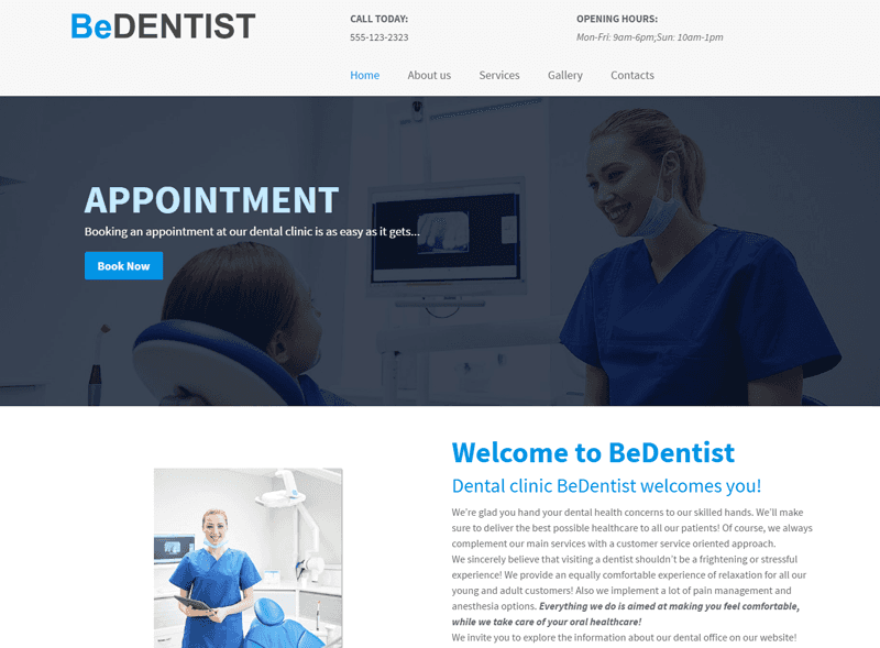 be dentist