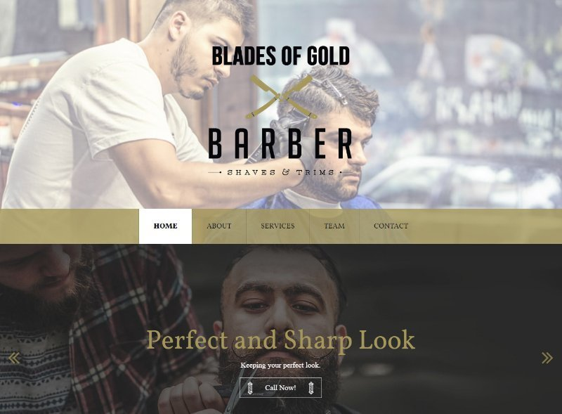 blades of gold barber