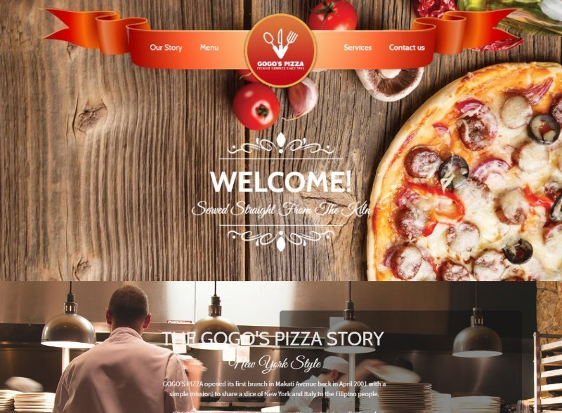 pizza theme