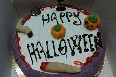 Torta di Halloween a Livorno
