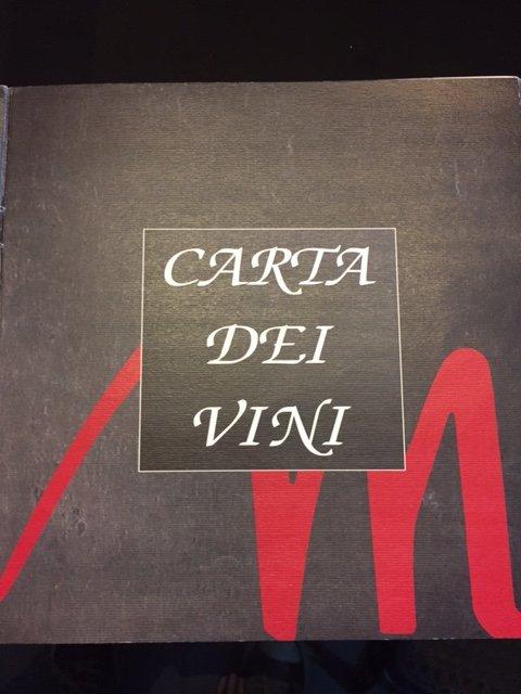 Carta dei Vini Osteria Dal Mozzo a Marcaria (MN)
