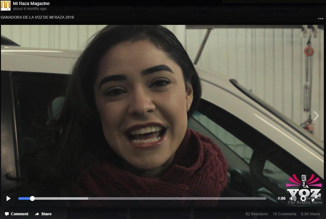 Dania Gonzalez, Ganadora La Voz de mi Raza 2016