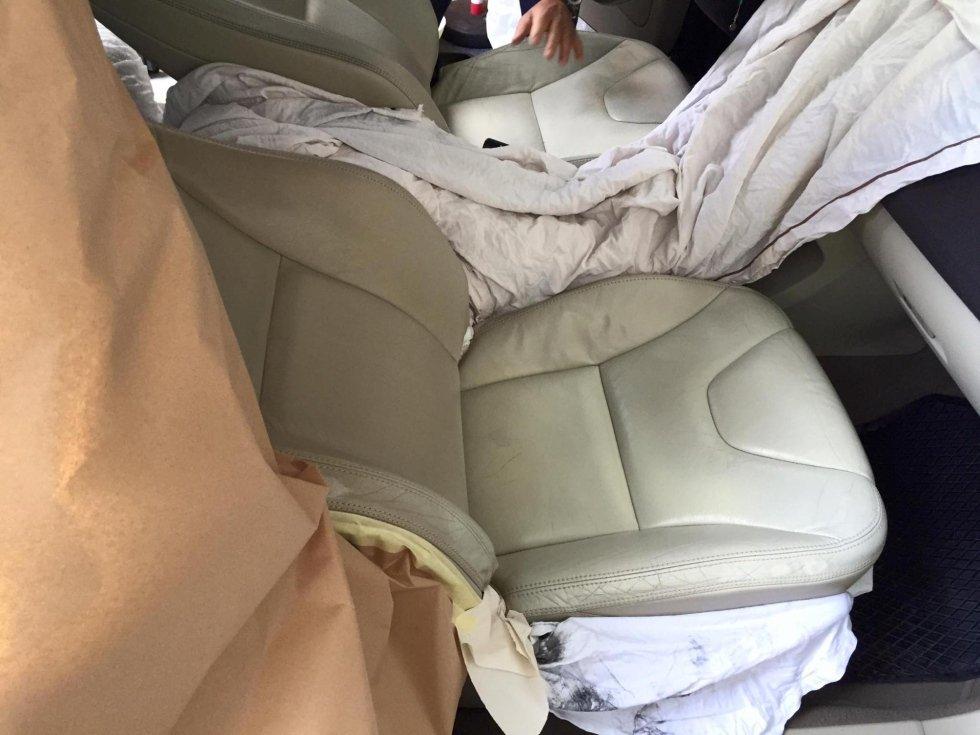 sanificazione sedili auto