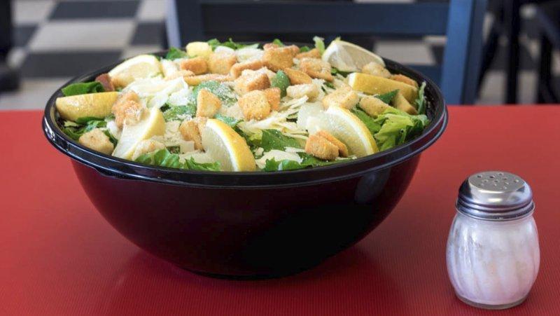 catering size caesar salad solana beach