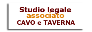 STUDIO LEGALE ASSOCIATO CAVO E TAVERNA