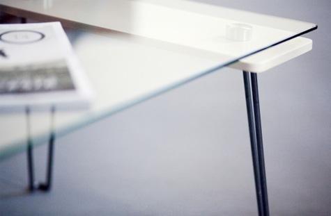 Tavoli, consolle e lavabi in vetro