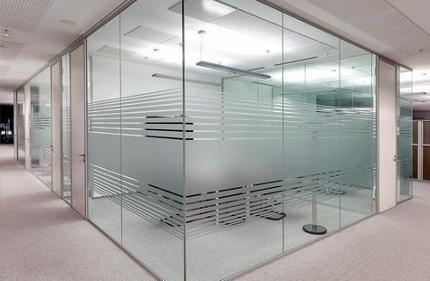 Porte e pareti divisorie in vetro