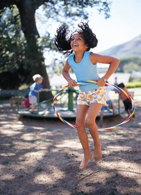 Play and learning - West Bromwich - Sadwica - Girl Jumping Hoop
