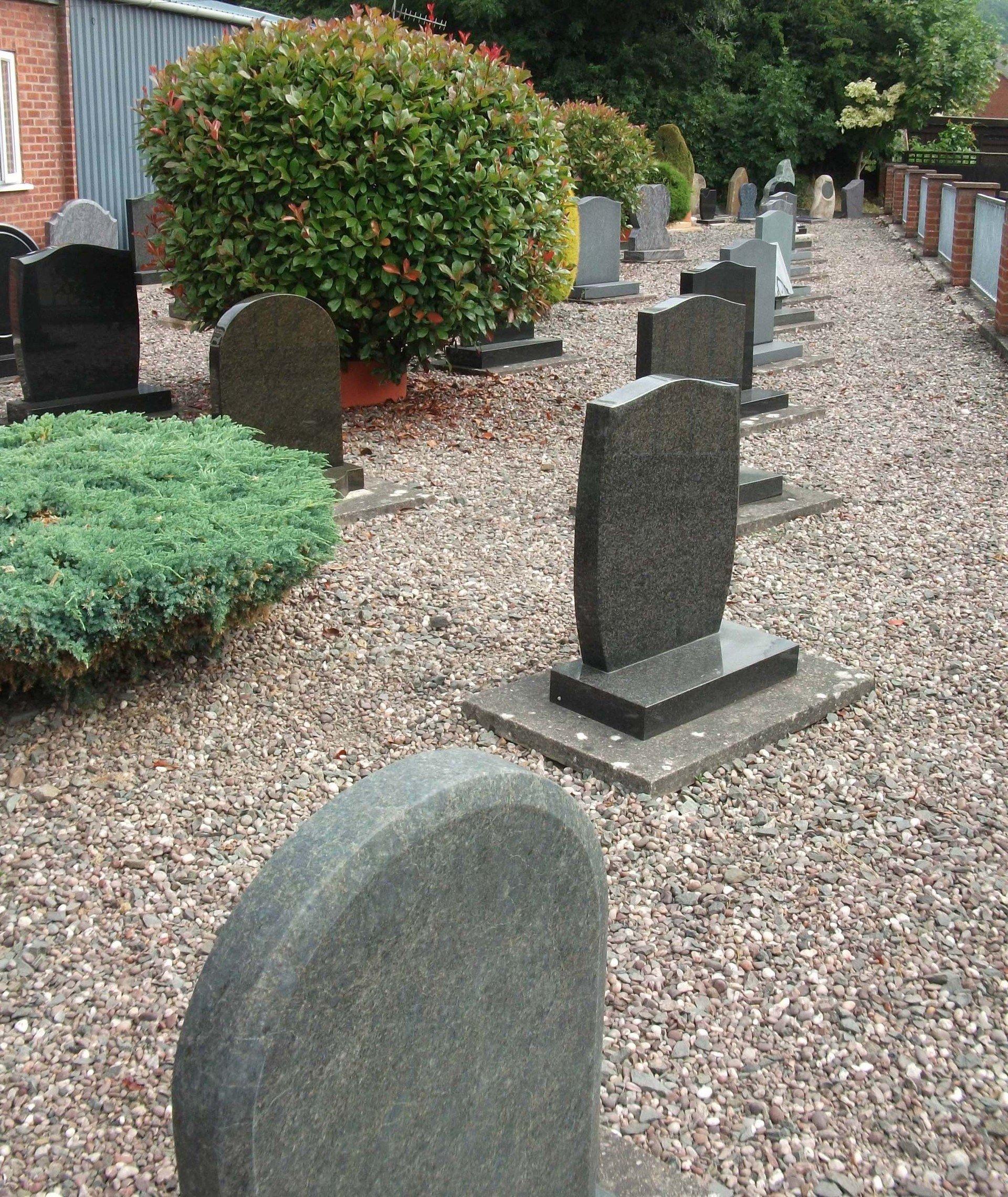 New memorials