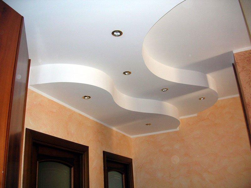 soffitto in cartongesso con illuminazione