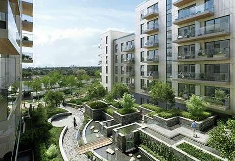 high-raise residential building