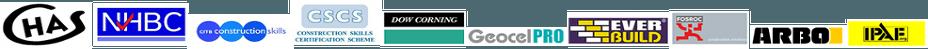 Logos and accreditation