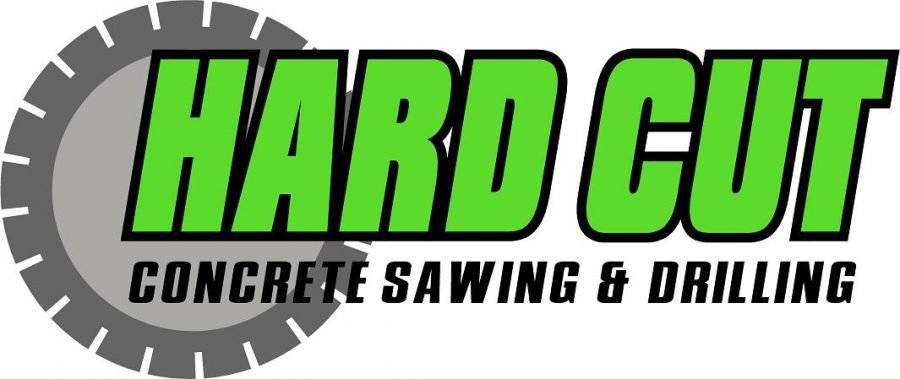 hardcut concrete sawing and drilling business logo
