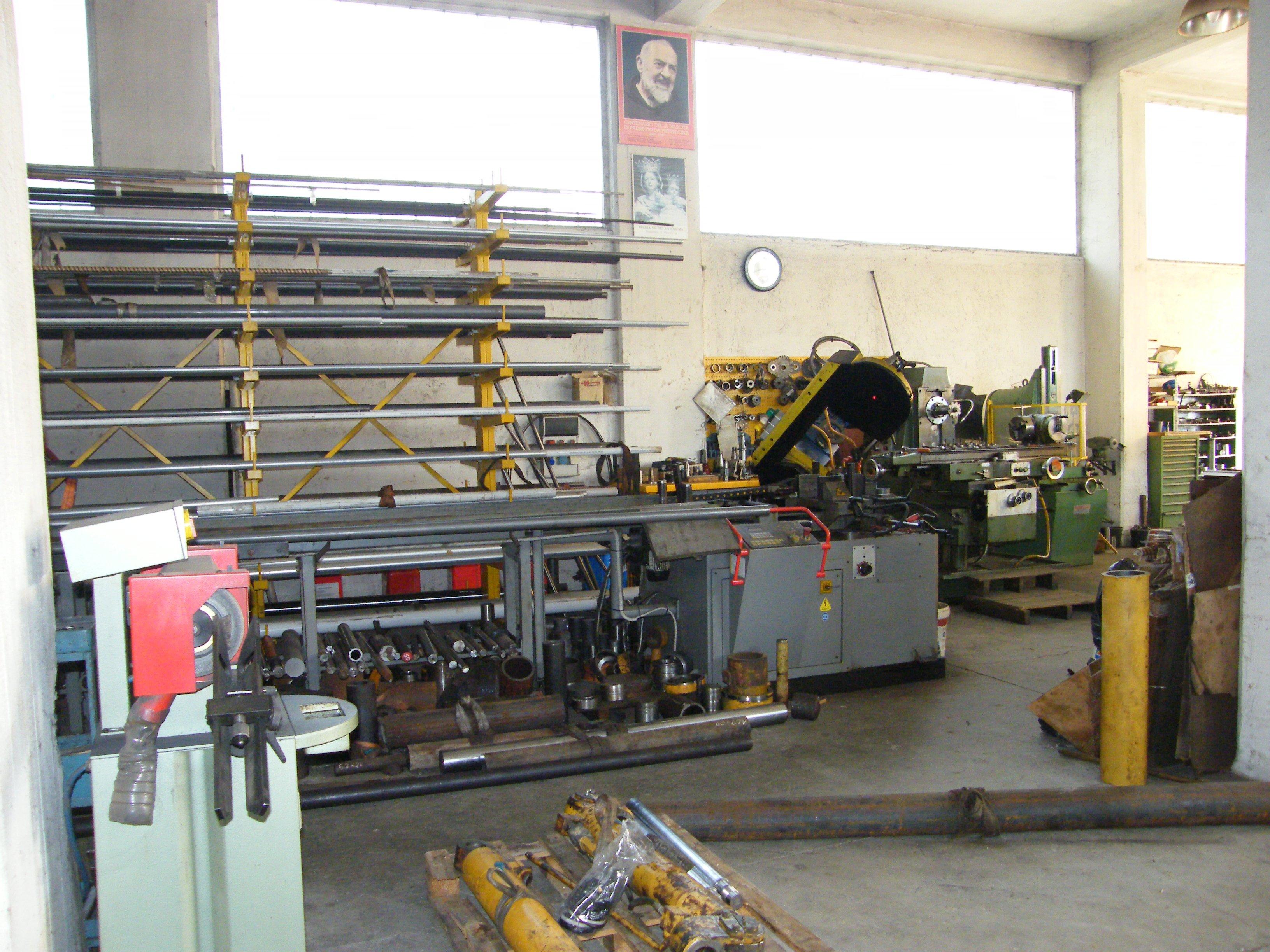 officina di ricambi macchine agricole a Pietrelcina, BN